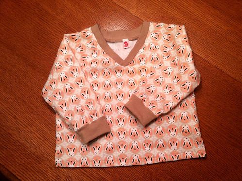 pj shirt for B: front