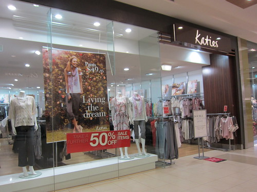 Katies - one of my fav. clothing shops