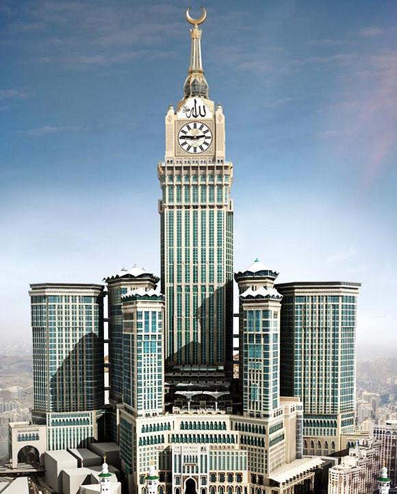 6252330410 808129ff31 b Gambar menara jam mekkah sentuhan anak Malaysia | Abraj Al Bait Towers | makkah clock tower
