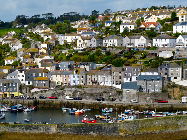 A Cornish Town. By Ian Layzell