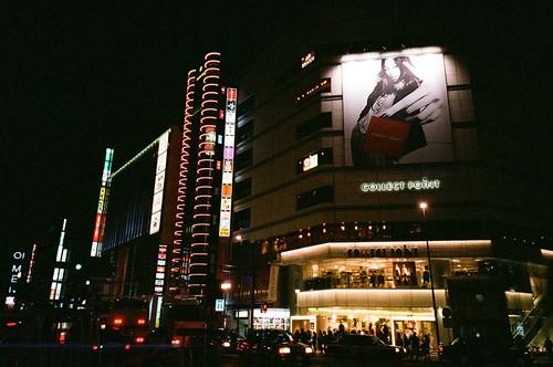 新宿街景 午夜前 03