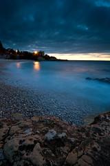 DSC_2497 (Lightreaver) Tags: longexposure sunset lebanon beach bulb lb seaway rockyshore okaibe nikond700 nikonafs1424mmf28ged lee06ndgradhardfilter