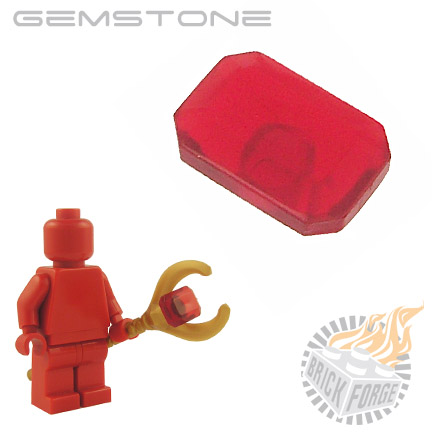 Gemstone - Trans Red (Ruby)