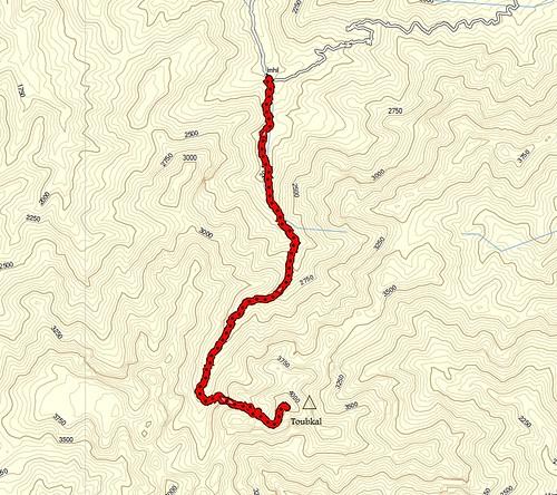 ruta de ascenso