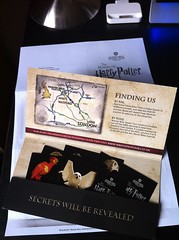 Yey! @jentertainment and I's tickets to the Making of Harry Potter at Leavesden Studios just came! (iamvisi) Tags: tickets tour harrypotter leavesdenstudios iphoneography makingofharrypotter