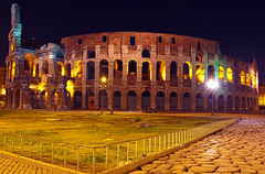 Colosseo HDR2 (Steven&K20D) Tags: italy rome roma night photoshop long exposure italia pentax colosseum notte hdr colosseo lunga esposizione scatto lungo k20d 18250mm