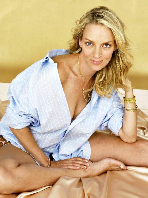 Hot blonde mature woman