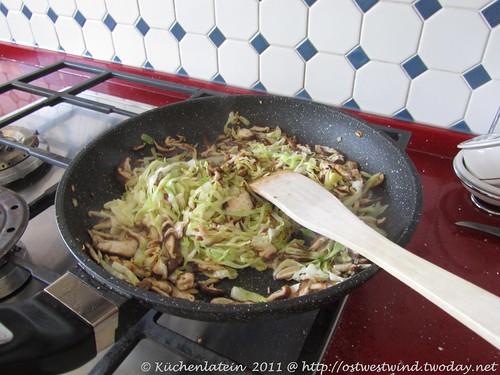 vegetarische Füllung für Kohlrouladen