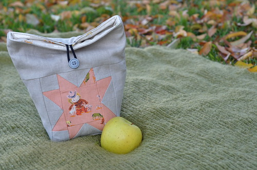 Little Lunch Sack Tutorial