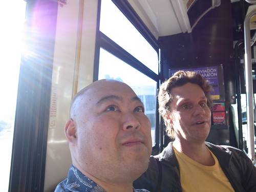 Daniel and Me on a Bus