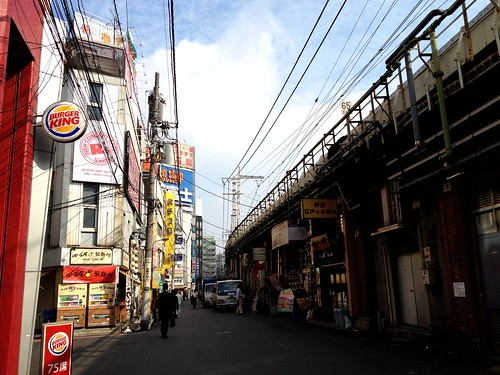 Walking from JR Kanda Station to Tokyo Metro Kanda Station