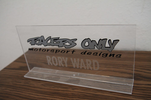 Rory Ward of Racers Only Motorsports Designs
