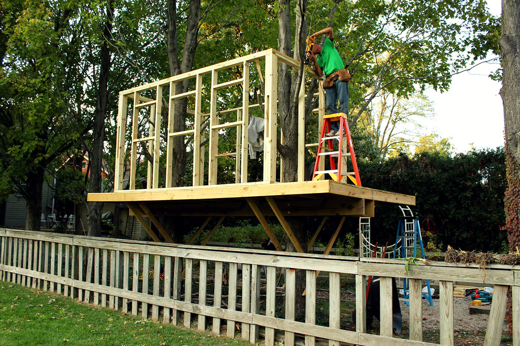 operation tree fort (the framing, part 1)