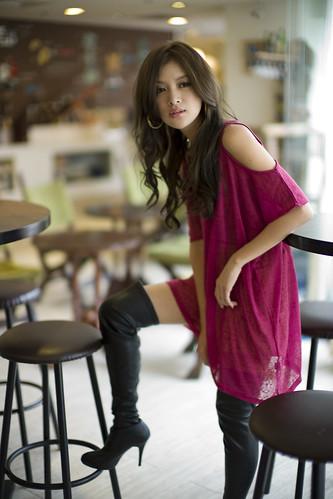 無料写真素材, 人物, 女性  アジア, ワンピース・ドレス, 台湾人