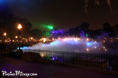fog on the rivers of america