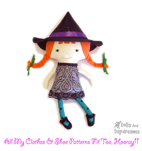 Flickriver Photoset Halloween Sewing Patterns By Dolls And Daydreams