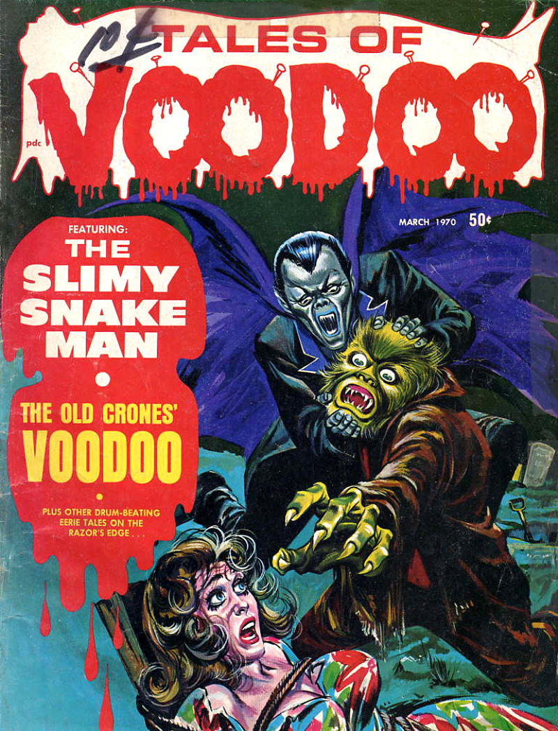 Tales of Voodoo Vol. 3 #2 (Eerie Publications 1970)