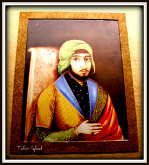 Portrait Of Sikh Sardar On Ivory (Probably Sardar Ajit Singh) Period 19th Century (Tahir Iqbal (Over 44,95,000 Visits, Thank You)) Tags: pakistan 1984 sikh gurdwara punjab kirtan gurudwara sikhism singh khalsa sardar gurus sangat sikhi nankanasahib bhagatsingh sikhhistory partition1984