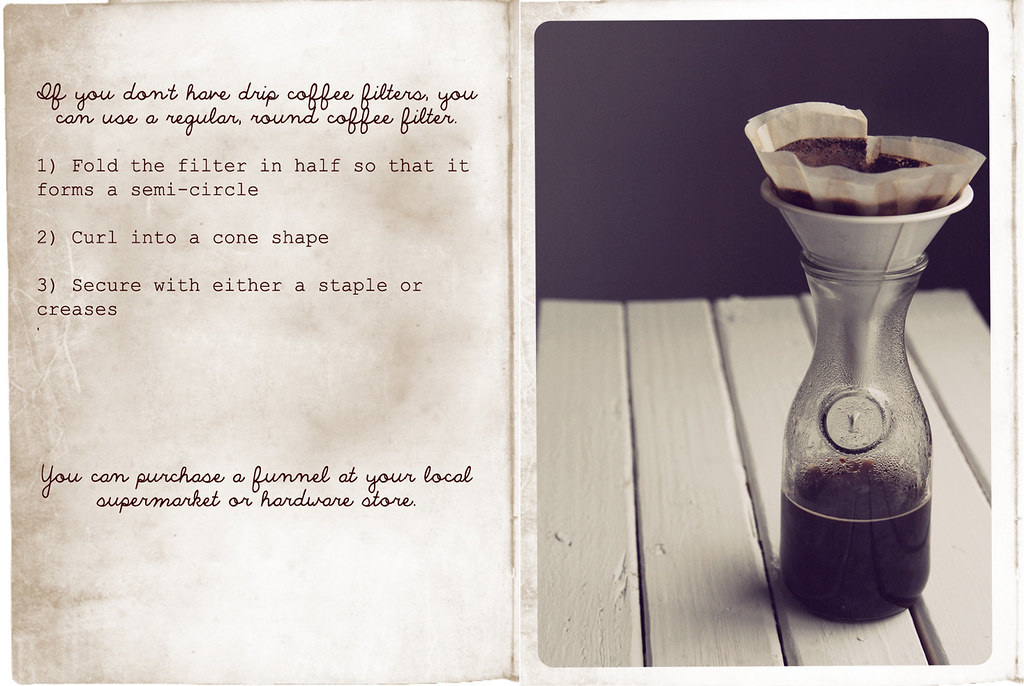 drip coffee filter