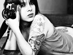 Saskya (matteoprez) Tags: portrait bw blancoynegro iso100 blackwhite colombia retrato bogot olympus bn e3 ritratto f4 biancoenero 43 blancetnoir zd fourthirds 41mm cuatrotercios 160th quattroterzi matteoprezioso metz48af zuikoed1454mm12835 fsuro matteopreziosophotography saskyadaz