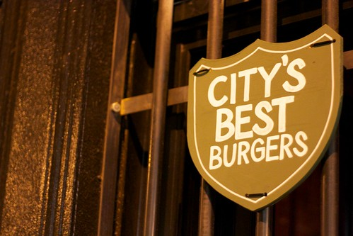 The city's best burgers? Debatable.