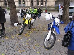 MX06CXJ AND MX09HYU (peeler2007) Tags: police yamaha suzuki gmp wr450f ukpolice drz400 yamahawr450f suzukidrz400 greatermanchesterpolice drz400k5 mx06cxj mx09hyu