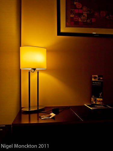 1000/623: 27 Oct 2011: Table lamp by nmonckton