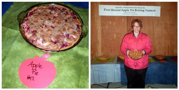 Grand Prize Winner for the 2011 Apple-Palooza Apple Pie Baking Contest at Lapacek's Orchard - Melissa Walsh