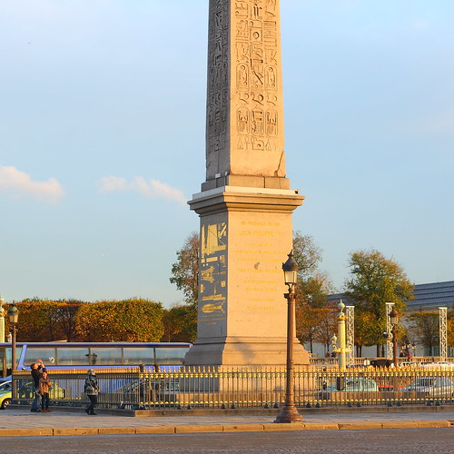 Luxor pillar, Place de la Concorde, Paris