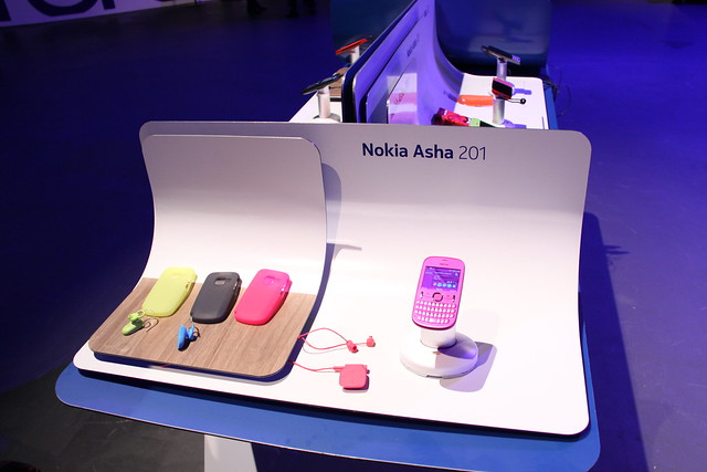 Nokia Asha 201 Display