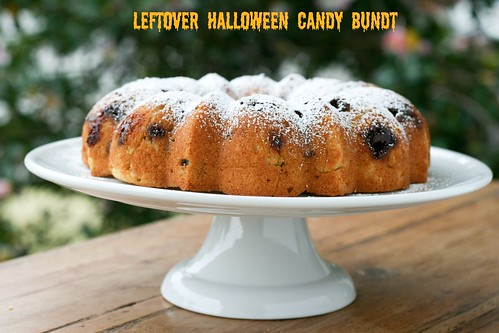 Leftover Halloween Candy Bundt - I Like Big Bundts 3