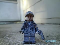 ben (~brickicon~) Tags: new dead for blood kill lego zombie 4 apocalypse arc prototype killer gore axe left proto brickicon