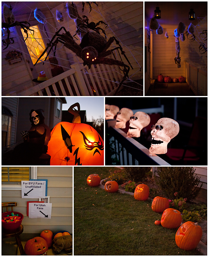 Halloween Neighborhood Decorations