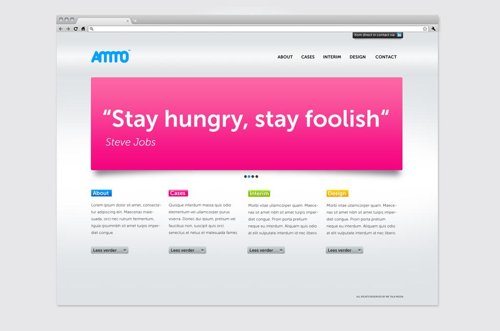 AMMO / website
