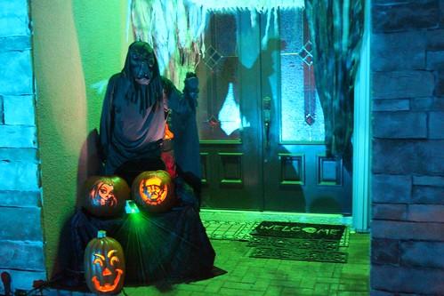 Front door scare
