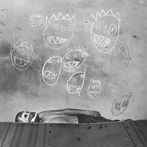 Roger Ballen, Shadow Chamber, Room of the Ninja Turtles, 2003