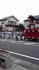 富士宮市秋祭りの写真