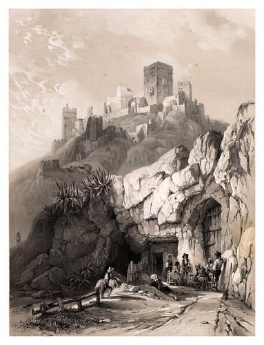 011-El castillo de Alcala de Guadaira-España artística y monumental..Tomo II- 1842-1850-Genaro Perez de Villa-Amil