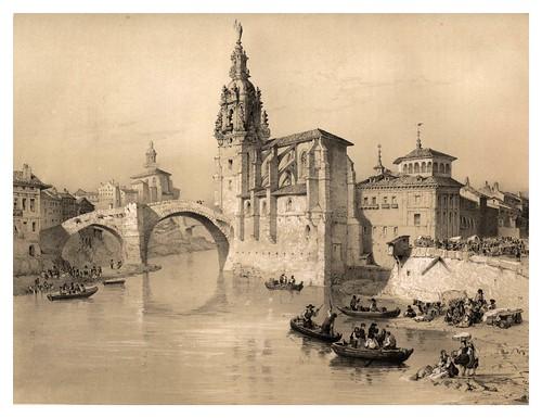 027-Iglesia de San Antonio Abad en Bilbao-España artística y monumental..Tomo III- 1842-1850-Genaro Perez de Villa-Amil