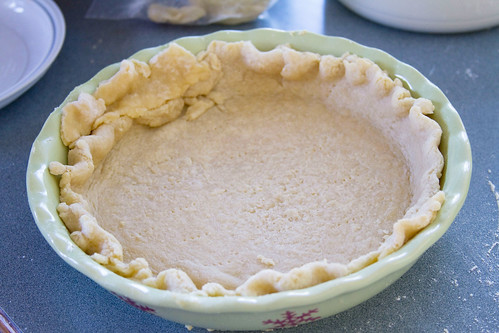 Apple Butter Pumpkin Pie - 1
