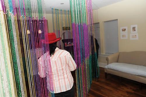 Beads installation