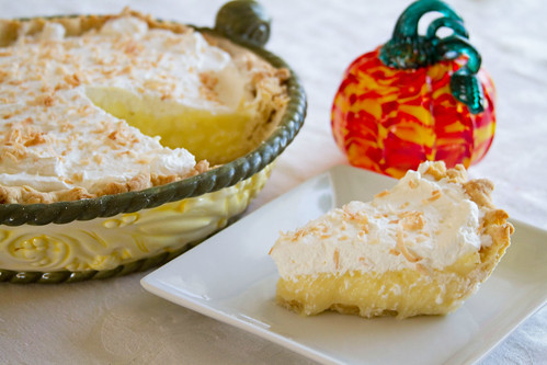 Coconut Cream Pie - 8