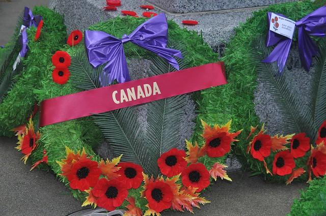Canada Wreath