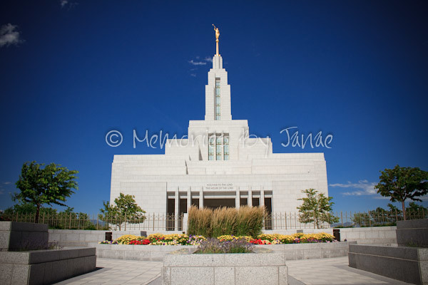 Draper Vintage LDS Temple Prints -4859