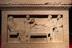 Istanbul Archaeology Museums: Satrap Sarcophagus (zug55) Tags: archaeology museum turkey trkiye istanbul sarcophagus marble archaeologicalmuseum eminn archaeologymuseum sidon satrap istanbularkeolo