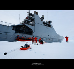 Climatic Research In The Ice (Hkon Kjllmoen, Norway) Tags: sea white ice nature beautiful norway svalbard research polar artic globalwarming the saveourplanet norwegiancoastguard nansensenteret hkonkjllmoen wwwkjollmoencom framstraight forskningpglobaloppvarming