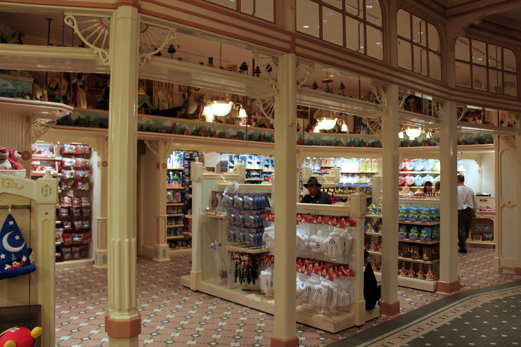 The Emporium is a Main Street, U.S.A. shop featuring the largest selection of souvenirs and merchandise in all of Disneyland Park at the Disneyland Resort.