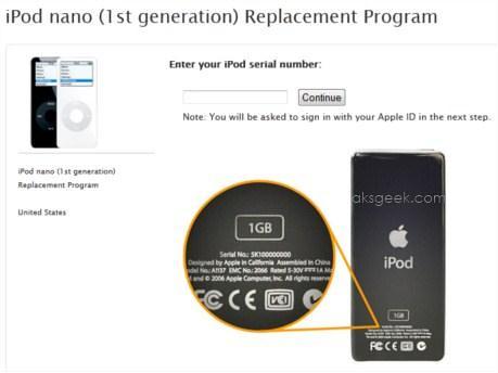 iPad Nano replacement