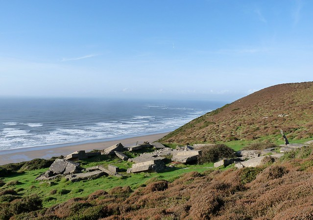 25301 - Radar Station, Rhossili Down
