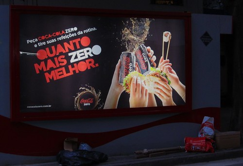 2011 Coca-Cola Zero Backlit Newstand Rio de Janeiro by roitberg